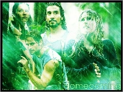 Emilie Ravin, Evangeline Lilly, Naveen Andrews, Filmy Lost, Josh Holloway